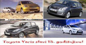 Toyota Yaris slavi 15. godišnjicu!