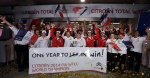 Citroën Racing osvojio WTCC za 2014. godinu