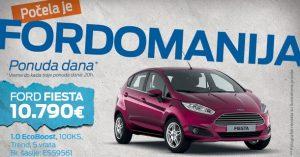 Fordovi automobili svakog dana s novom cenom