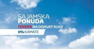 Toyota Centar Beograd nudi vozila po specijalnim uslovima kupovine