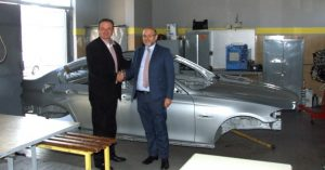 Saobraćajno tehnička škola u Zemunu bogatija za nastavno sredstvo – karoseriju BMW SERIJE 5