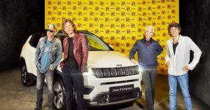 Rolingstonsi i model Jeep® Compass uzdrmali Pariz na završnom koncertu evropske turneje
