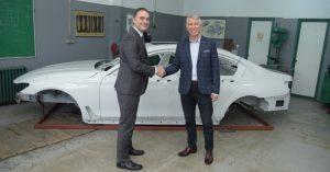 Donacija karoserije BMW Serije 7 Tehničkoj školi GSP