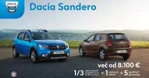 Dacia je za svoje kupce pripremila fantastične sajamske uslove