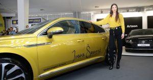 Ivana Španović dobija na korišćenje novi Volkswagen Arteon