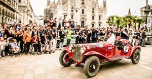 Trka Mille Miglia  2018.g. je uspeh za brend  Alfa Romeo