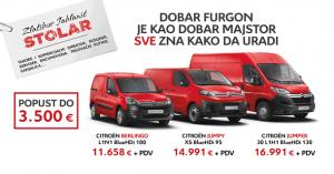 CITROËN komercijalna vozila – subvencionisani lizing i popusti do 3.500€