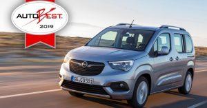 Opel Combo Life je ,,Best Buy automobil u Evropi 2019''