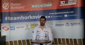 Dušan Borković u drugoj sezoni TCR Evropa