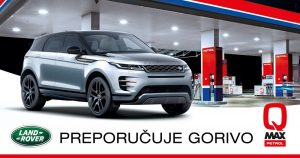 Land Rover preporučuje goriva Petrol QMax