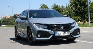 Garaža test: Honda Civic 5D 1.5T MT Sport