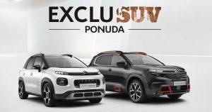 EXCLUSUV ponuda za Citroën C3 Aircross i Novi Citroën C5 Aircross
