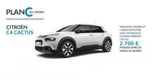 Citroën C4 Cactus – akcijska ponuda za vozila sa lagera