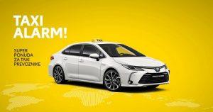 Toyotina ponuda za TAXI prevoznike