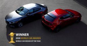 Mazda3 osvojila naslov Svjetski automobilski dizajn 2020. godine