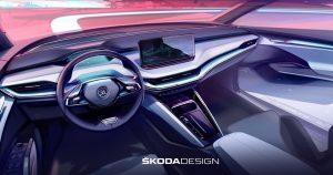ŠKODA postavlja nove standarde kada je dizajn enterijera u pitanju za novi ENYAQ iV