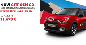 Predstavljamo novi Citroën C3 – život je lepši kada je u boji