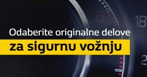 """Renault i Dacia servisna akcija """"Originalni rezervni delovi za sigurnu vožnju"""""""