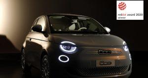 "Fiat New 500 osvojio nagradu ""Red Dot 2020."""
