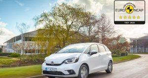 HONDA Jazz osvojila maksimalnih 5 Euro NCAP zvezdica