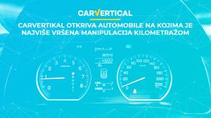 carVertical otkriva automobile na kojima je najviše vršena manipulacija kilometražom