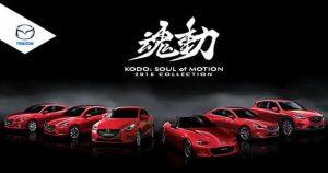 Mazda slavi deset godina svog dizajnerskog jezika Kodo