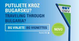 Vinjete za Bugarsku od sada dostupne na OMV benzinskim stanicama u Srbiji