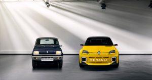 Renault 5 Prototype, prednja svetla koja vam namiguju