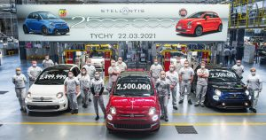 Fabrika grupe Stellantis u poljskom gradu Tihi proslavila je  proizvedenih 2,5 miliona vozila Fiat 500
