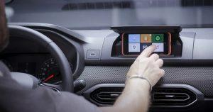 Dacia Media Control sistemu u modelu Sandero Stepway