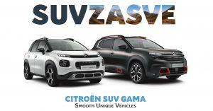 Citroën SUV modeli – samo za najbrže popusti do 2400 evra