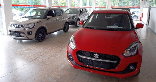 Suzuki automobili s brzom isporukom i cenama nižim i do 1.100 evra