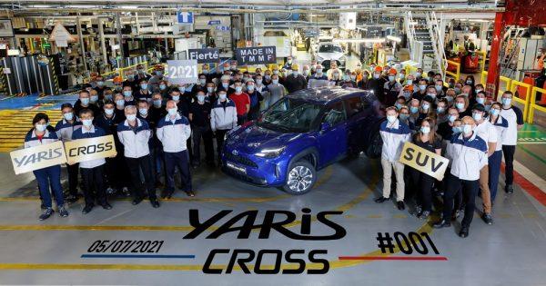 Toyota započinje proizvodnju modela Yaris Cross