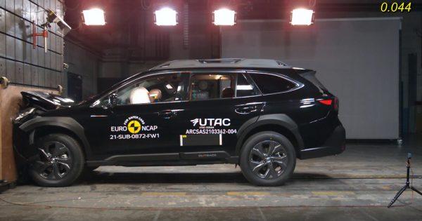 Potpuno novi Subaru Outback objavljuje najbolje rezultate na 2021  EuroNCAP* Safety Testu