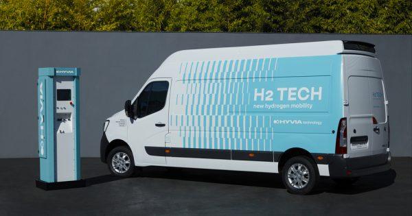 HYVIA predstavlja prototip model Renault Master Van H2-TECH
