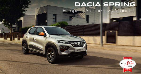 Dacia Spring u finalu Auto Best izbora